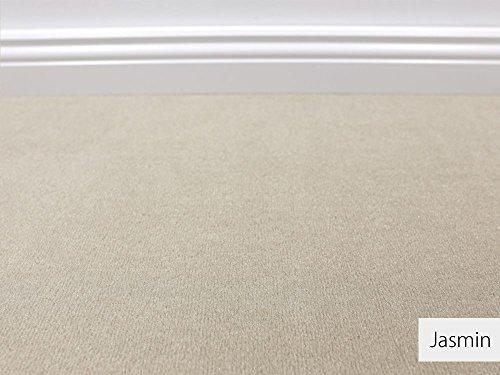 Die Vorwerk Bijou Kollektion - Bijou Uni Teppichboden in 16 Farben Mustermaterial - Inkl. 2{b57e6980071c7421e5f48007740c62cc5313bb710e980ca1b554d5932d789f76} HEVO® Bestellgutschein - Jasmin