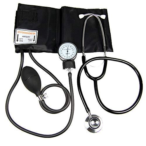 Valuemed Medical - Tensiómetro aneroide para medir la presión sanguínea. Incluye estetoscopio gratuito...