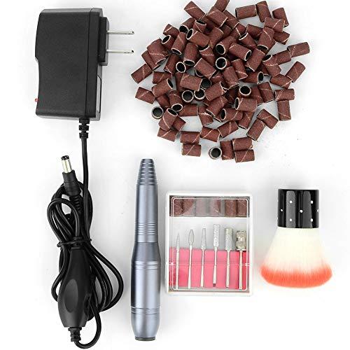 Professionelle Bohrmaschine mit 15000 U/min, elektrischer Nagellackierer, elektrischer Maniküre-Stift zum Entfernen von hartem Gel/Schleifen/Polieren/Bohren(01)