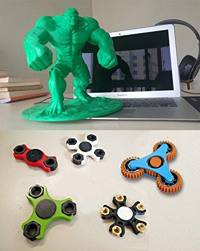 FLSUN 3d Drucker Delta Kossel Diy Kit mit großem 3D Druck Größe aktualisiert Nuzzle System Beheiztes Bett Auto Leveling (Linearführung) -