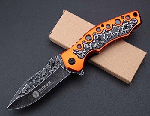 KNIFE SHOP Outil De Pliage Extérieur Browning F96 Survie Couteau Portable D'auto-Défense Droite Couteau Dureté De Haute Dureté Multi-Fonction