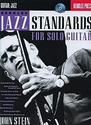 Berklee Jazz Standards for Solo Guitar + CD