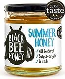 Black Bee Honey Summer Honey - 100% Pure and Natural, Single Origin British