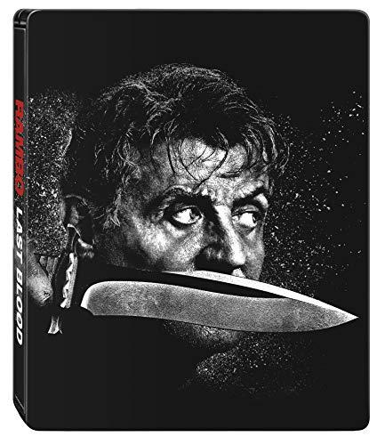 Rambo: Last Blood 4K Steelbook (Bd 4K + Bd) (Limited Edition) (2 Blu Ray)