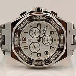 Aqua Master Royal Oak Mens Diamond Watch 1.50ctw W3256
