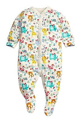 next Bebé Niñas Paquete De Tres Pijamas Peleles Estampado De Animales
