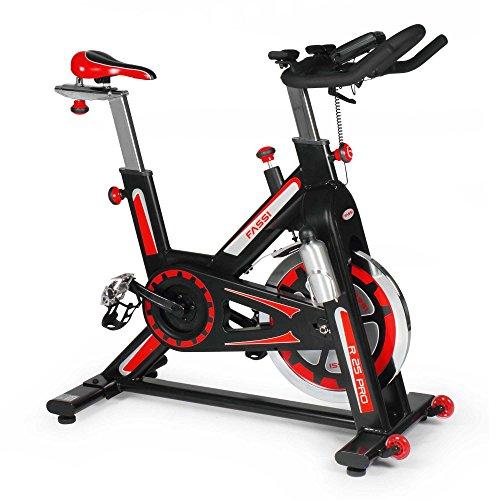 Fassi R 25 Fit Bike, Regolazione manuale dello sforzo, Nero