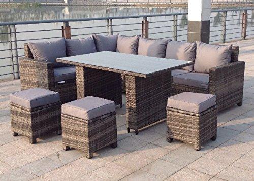 Astounding Buy Rattan Outdoor Corner Sofa Dining Set Garden Furniture Cjindustries Chair Design For Home Cjindustriesco