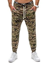BOLF – Pantalons de sport – Jogging – Military – Sport – Training – Motif – Homme [6F6]