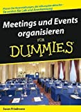 Meeting Und Events Organisieren Fur Dummies (F??r Dummies) by Susan Friedmann (2008-04-16)