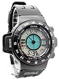 Casio - CPW-100-1AV - Montre Homme - Quartz Digitale - Chronomètre/Alarme/Boussole&GPS - Bracelet Caoutchouc Noir