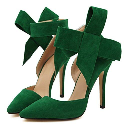 fereshte ,  Damen Knöchel-Riemchen Grün
