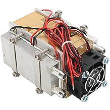 GOZAR 12V 60W Refrigeración Termoeléctrica Peltier Enfriador Sistema De Ventilador Disipador ...