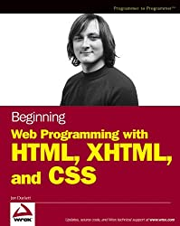 Beginning Web Programming with HTML, XHTML, and CSS (Wrox Beginning Guides) (