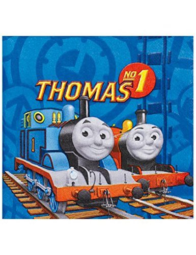 Amscan Thomas & Friends Serviettes en Papier, 552159