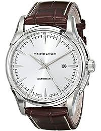 Hamilton HerrenArmbanduhr Analog Automatik Leder H32715551