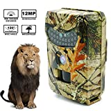 Hunting Trail Camera,Womdee Animal Cameras for Outdoors Recorder,12MP 1080P Hunting Game Camera,Trigger Speed