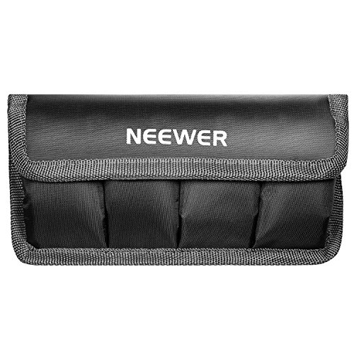 Neewer Battery Storage Bag Case for Reflex Digitali/AA/LP-E6/E8/E10/E12/EN-EL14/EN-EL15/FW50/F550 Batteries etc. Suitable for Nikon D800/Canon 5DMKIII/Sony A77 Batteries