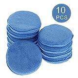 YeeStone Mikrofaser Wachs Applikator 10Pcs Auto Reinigung Polieren Wachsen Schaum Schwamm Polieren Schwämme