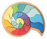 Grimm's 43660 - Legespiel Ammonit Schnecke