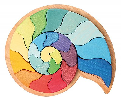 Puzzle Pièces Escargot Grimm's