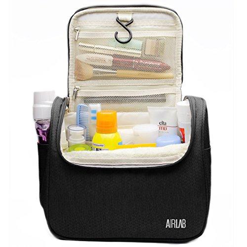 kulturbeutel zum aufh ngen airlab kulturtasche mit tragegriff und haken gr e 24x 19 5 x 12. Black Bedroom Furniture Sets. Home Design Ideas