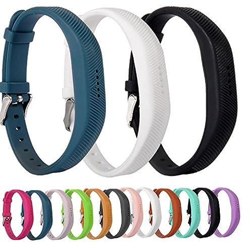 Greatfine Remplacement de Silicone Strap Bandes Wristband Bracelet pour Fitbit