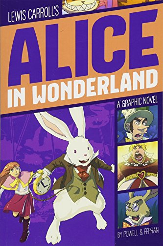 Alice in Wonderland (Graphic Revolve) por Lewis Carroll