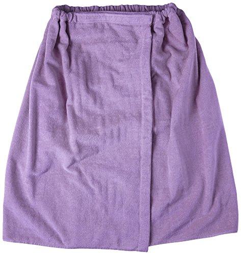 Terry Town Damen Plus Größe Terry Velours Spa Wrap, Lavendel, XXL
