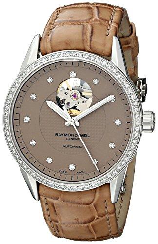 raymond-weil-da-donna-2750-sls-66081-freelance-orologio-analogico-display-svizzero-automatico-marron