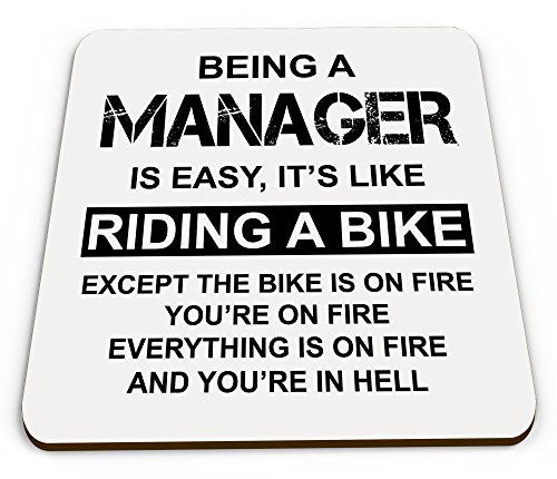 being-a-manager-is-easy-its-like-riding-a-bike-funny-novelty-glossy-mug-coaster