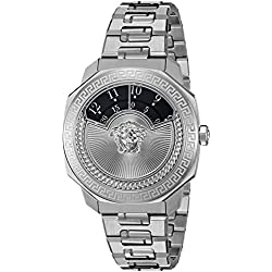 Versace Women's Dylos Swiss Quartz Stainless Steel Casual Watch (Model: VQU030015)