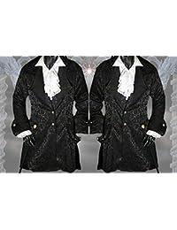 Suchergebnis auf Amazon.de für  Gothic Gehrock schwarz  Bekleidung cd059f65ed