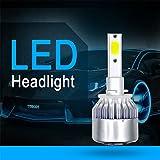 #6: EDTara COB LED Headlight Replacement Bulb for RV SUV MPV Car 1Pair