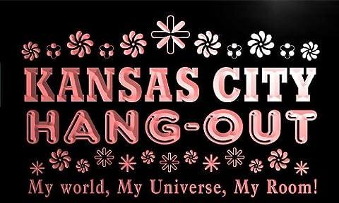 pq2087-r Kansas City Hang Out Girl Kid's Princess Room Neon Light Sign
