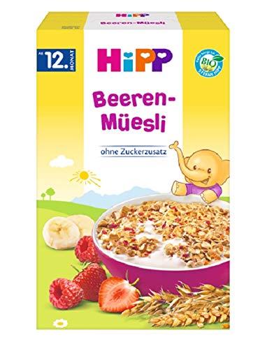 HiPP Bio Beeren-Müesli, 6er Pack (6 x 200 g)