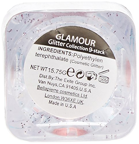 bellapierre Cosmetics 9-Stack Shimmer, Iris