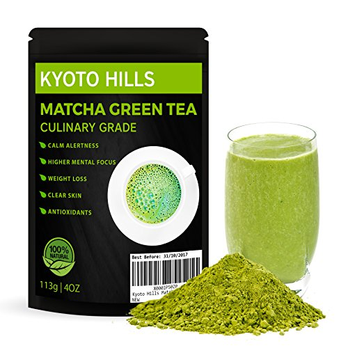 Giapponese Matcha tè verde in polvere 113g 'Kyoto...