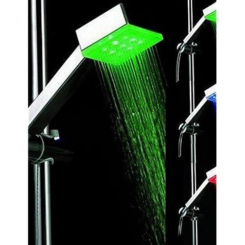 LONG-doccia a mano cambiando colore led -