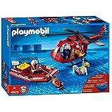 Playmobil 4428 - SOS-Helikopter mit Rettungsboot