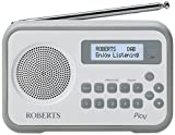 Roberts Radio Play Digital Radio with DAB/DAB+/FM RDS and Built-In Battery Charger - Grey