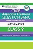 #5: Oswaal CBSE Chapterwise/Topicwise Question Bank for Class 9 Maths (Mar.2018 Exam)
