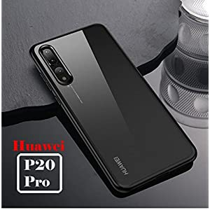 Huawei P20 Pro Mobistyle - All Side Protection Luxury & Elegant Back Cover Case for Huawei P20 Pro (Auto Focus Black)