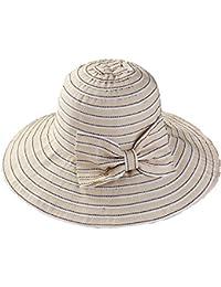 06e034b7fecaa MKHDD Mujeres Al Aire Libre del Sombrero del Sol Plegable UPF 50 + Playa  Ancha De