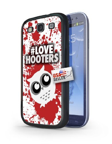 owl-red-white-splatter-hashtag-love-hooters-art-black-plastic-cover-case-for-samsung-galaxy-s3
