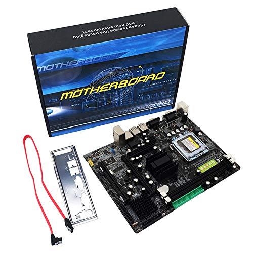 Dimm Dual-channel-speicher (Sen-Sen Professionelle 945 Motherboard 945GC + ICH Chipsatz Unterstützung LGA 775 FSB533 800MHz Multicolor)