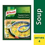 Knorr Chinese Sweet Corn Veg Soup, 52g with Free Crunchy Croutons, 8g