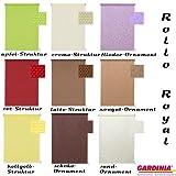 Gardinia Easy Fix Royal Fenster Rollo 100 x 150 in flieder Ornament