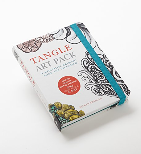 Tangle Art Pack: A Meditative Drawing Book and Sketchpad -