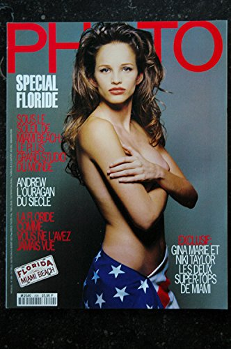 PHOTO 299 SPECIAL FLORIDE GINA MARIE NIKI TAYLOR SENSUEL PAUL LANGE ORAZIO 1993